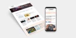 Site web media